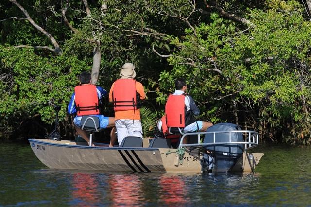 Pesca esportiva RDS Uatumã