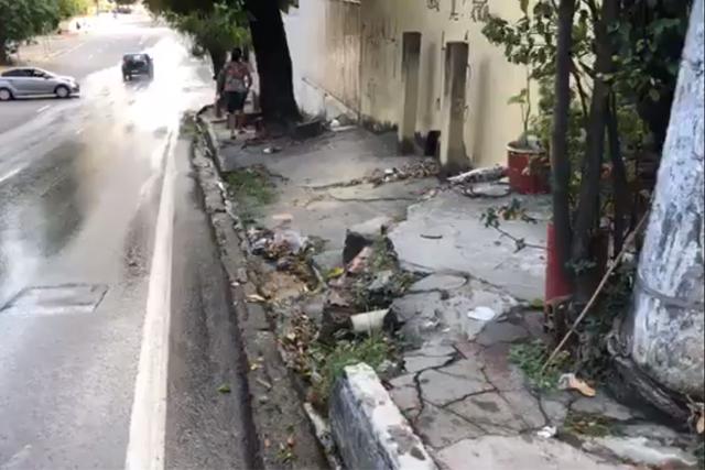 falta de mobilidade