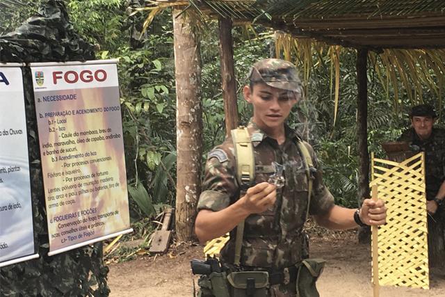 treinamento selva