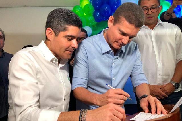 ACM Neto e Marcos Rotta