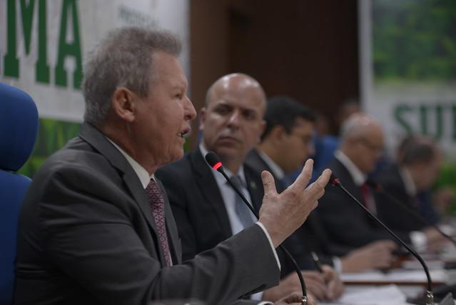 Arthur Virgílio Neto na reunião do CAS