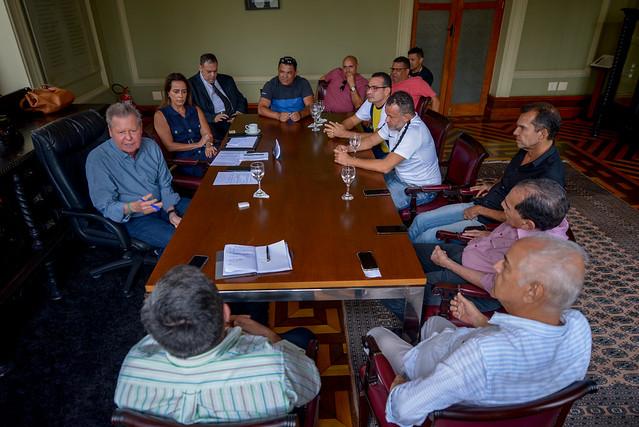 Arthur Virgílio em reunião sobre intervenção no transporte