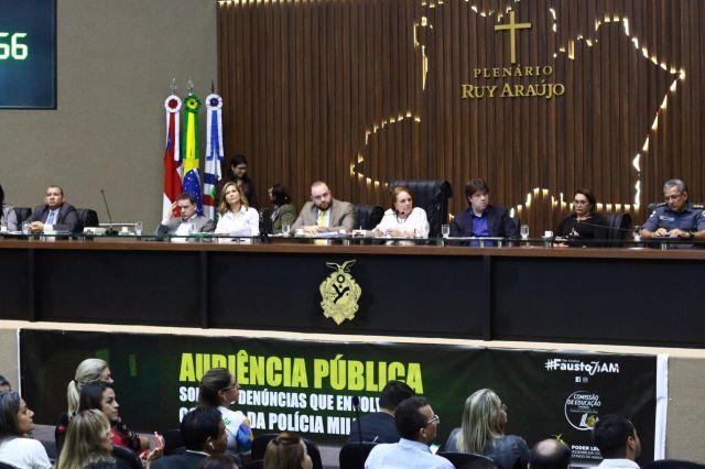 Audiência Pública sobre escolas da Policia Militar