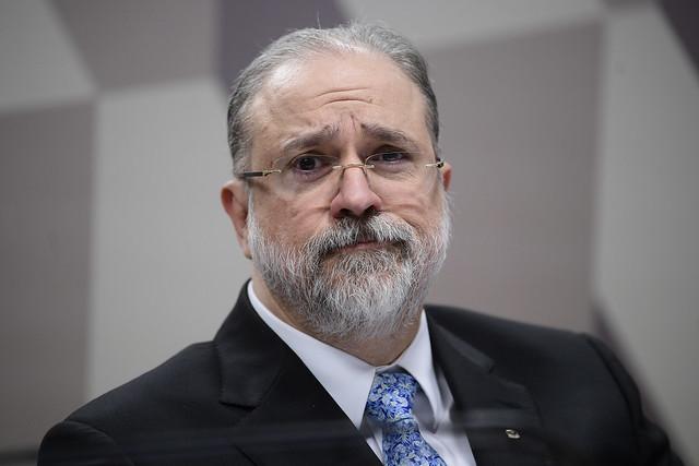 Augusto Aras ignorou normas internas e interrompeu os mandatos em exercício de 16 conselheiros e coordenadores da ESMPU (Foto: Pedro França/Agência Senado)