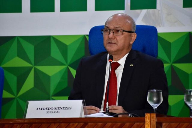 Alfredo Menezes, superintendente da Suframa