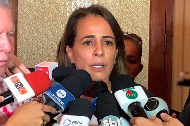 primeira-dama Elisabeth Valeiko Ribeiro