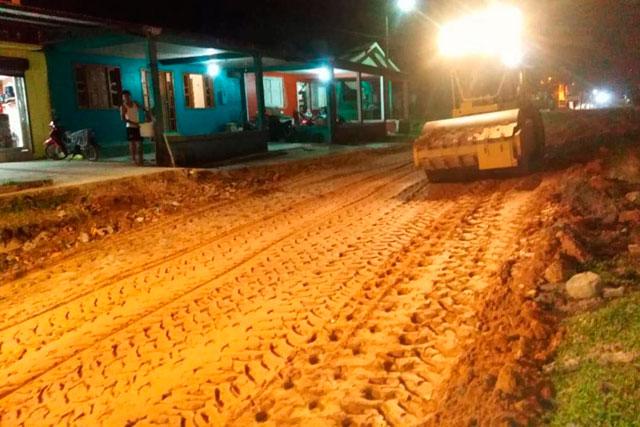Prefeitura de Tabatinga, obras