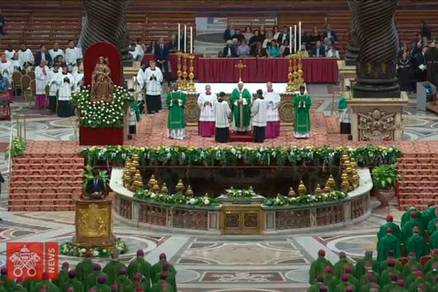 Papa Francisco abre o Sínodo da Amazônia