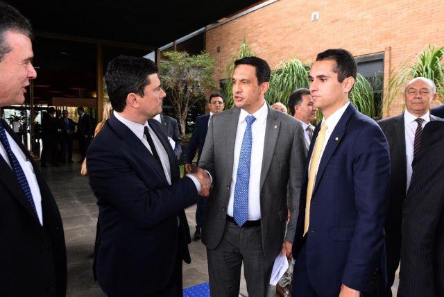 Sidney Leite e Sérgio Moro