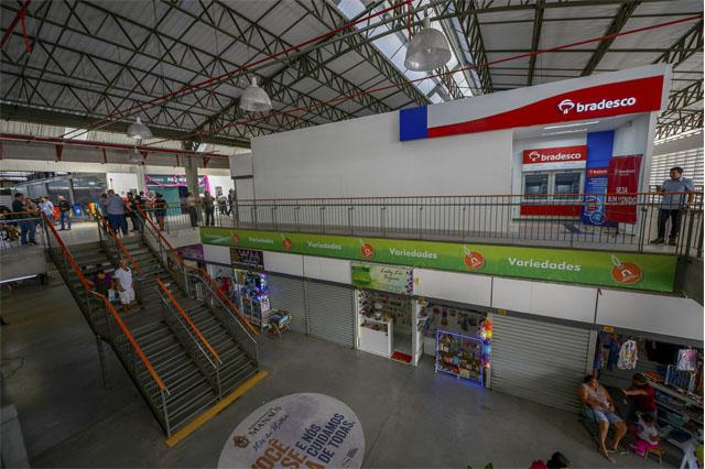 Shopping Philippe Daou ganha agência bancária (Foto: Alex Pazuello/Semcom)