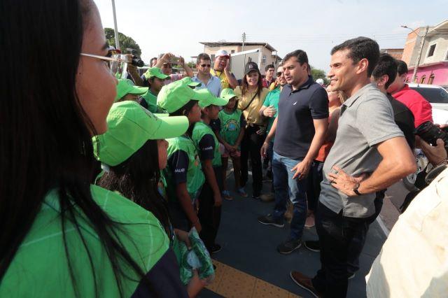 Wilson Lima inaugura ProsaiMaués