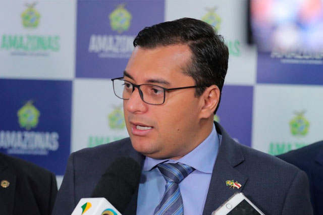 Wilson Lima, governador do Amazonas