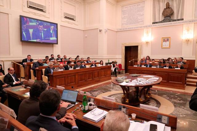 governador Wilson Lima no Vaticano