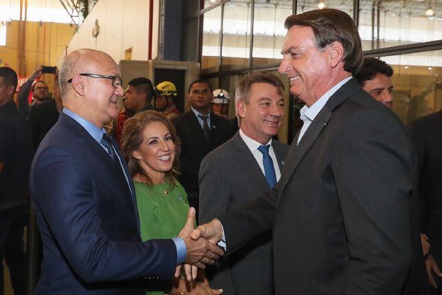 Alfredo Menezes e Bolsonaro