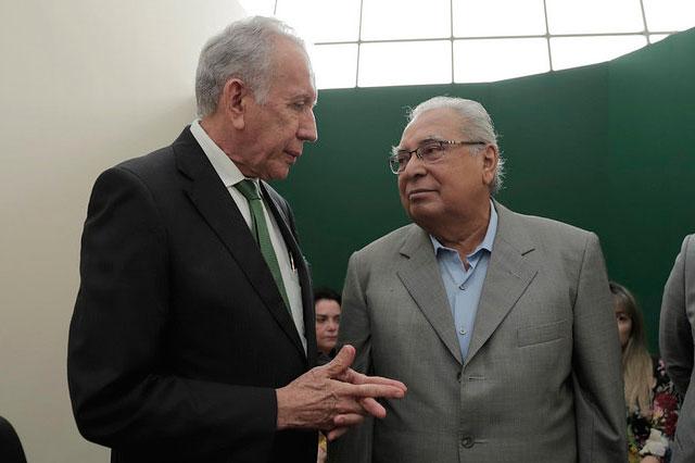 Ari Moutinho e Amazonino Mendes