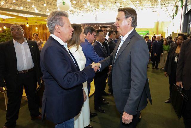 Arthur Virgílio Neto e Jair Bolsonaro