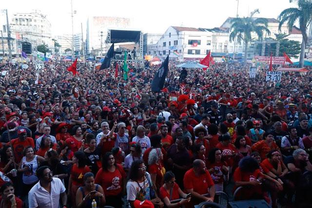 Lula em Recife