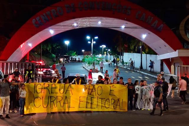 Manifestação contra Bolsonaro