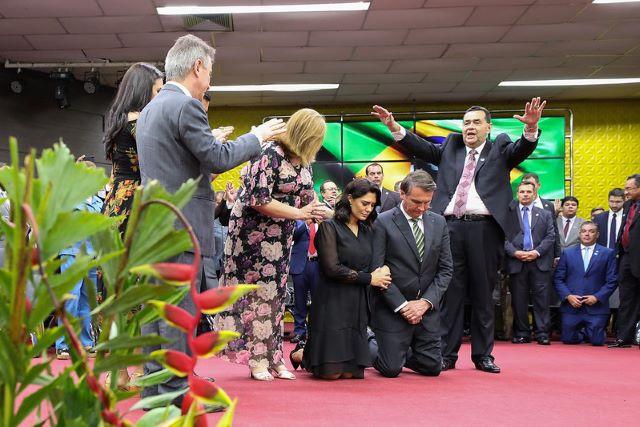culto de celebração canaã bolsonaro