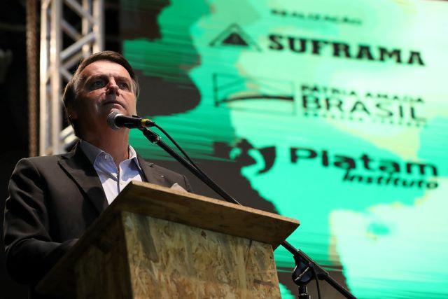 Presidente Jair Bolsonaro em Manaus