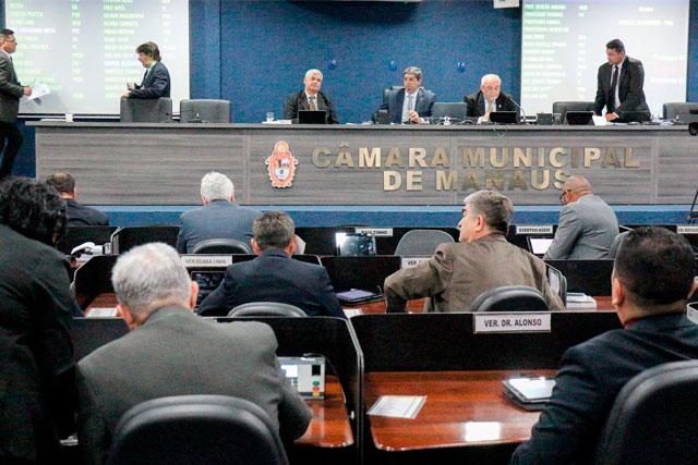 Plenário da Camara Municipal de Manaus