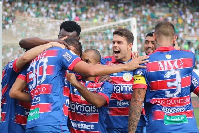 O Fortaleza ainda tem margem para chegar à sétima posição, o que daria vaga à pré-Libertadores (Foto: Luan Erick/Fortaleza EC)