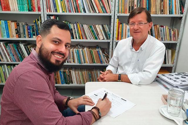 João Victor Tayah e Jose Ricardo
