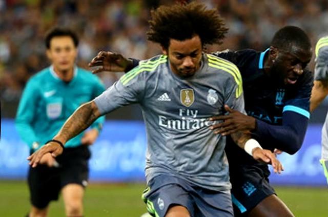 Marcelo estará na no jogo mais esperado das oitavas, contra o Manchester City (Foto: Youtube/Reprodução)