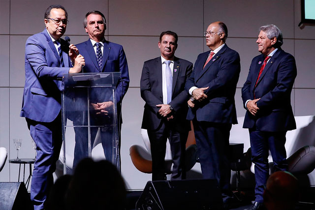 Silas Camara e Bolsonaro