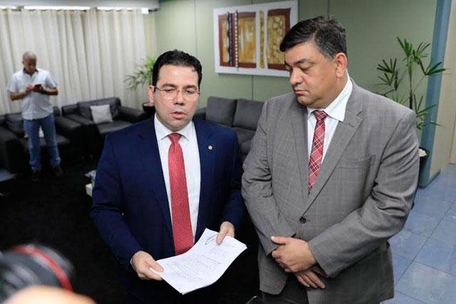 Wilker Barreto e Dermilson Chagas