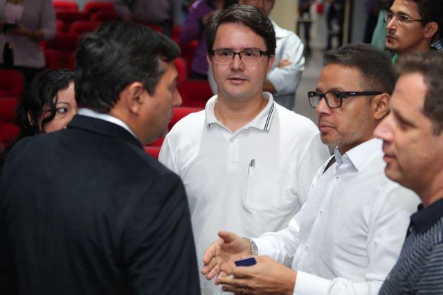 Wilson Lima e diretores da Fundação Unisol