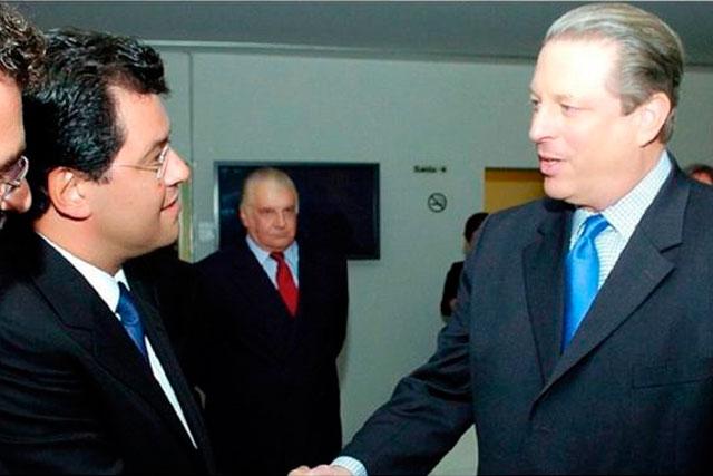 Eduardo Braga e Al Gore