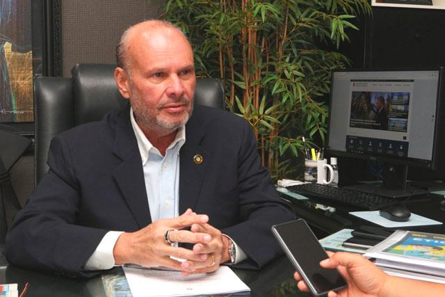 presidente do TCE, Mário de Mello