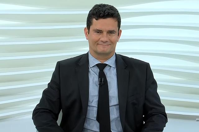 Em entrevista ao Roda Viva nesta segunda, Sérgio Moro disse que 'Vaza Jato' o tema é 'um episódio menor' (Foto: Reprodução)