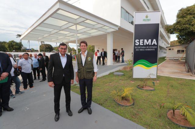 Wilson Lima e Ricardo Salles