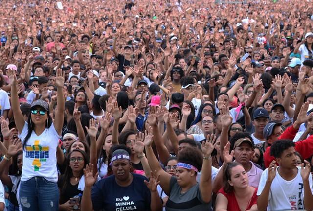 Os evangélicos que se declaram pretos ou pardos são 59% (Foto: Rovena Rosa/Agencia Brasil)