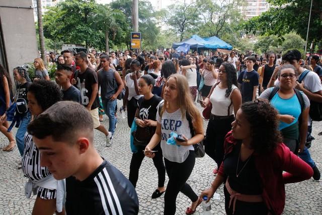Participantes do Enem pediram a reavaliação da nota (Foto: Fernando Frazão/Agência Brasil)