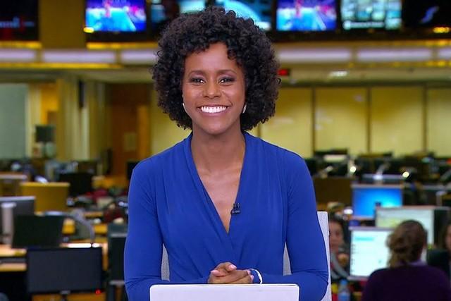 Maju Coutinho é a voz por trás de Michelle Obama na versão em áudio da biografia 'Becoming: A Minha História' (Foto: TV Globo/Reprodução)