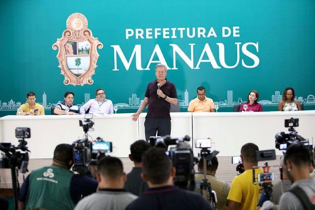 Prefeito de Manaus, Arthur Virgílio Neto