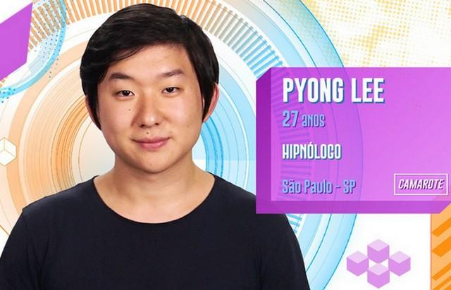No primeiro dia do programa, Pyong Lee disse que foi abandonado pela mãe quando ainda era criança (Foto: GShow/Divulgação)