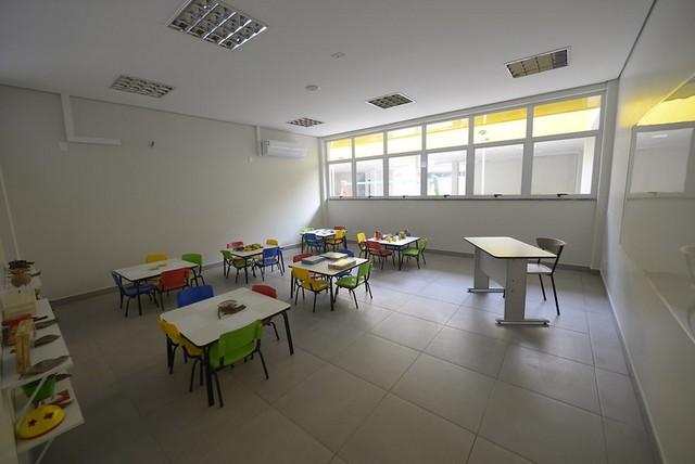 Cime tem 12 salas de aula em cada prédio (Fotos: Alex Pazuello/Semcom)