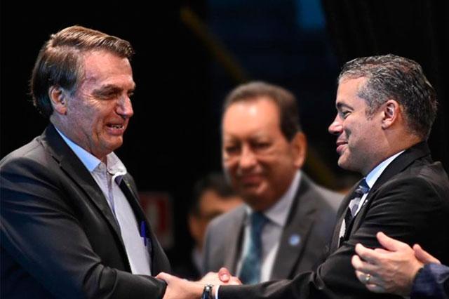 Jair Bolsonaro e Josué Neto