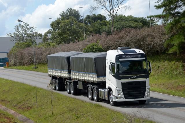 Venda para a Colômbia em 2019 compensou a queda de 60% nas exportações para a Argentina (Foto: Divulgação Volvo)