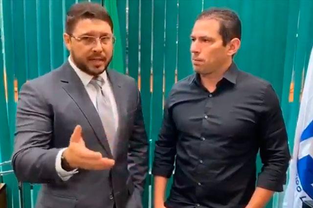 Carlos Almeida e Marcelo Ramos