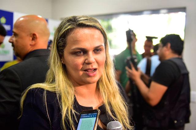 Delegada geral Emília Ferraz Moreira