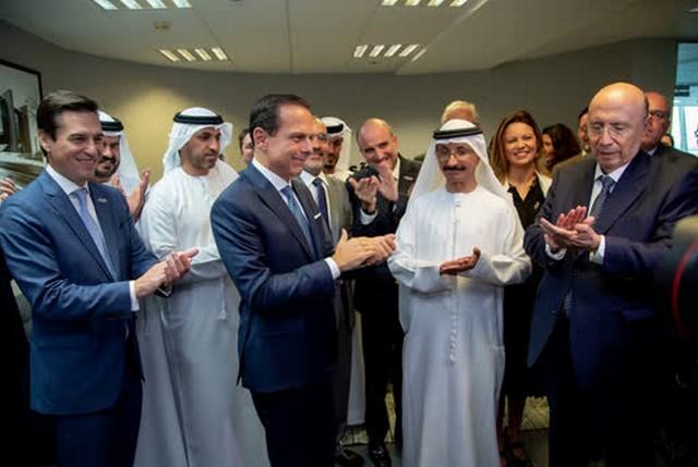 João Doria disse que oito empresas que participaram da missão empresarial aos Emirados Árabes fecharam negócio (Foto: Governo de São Paulo)