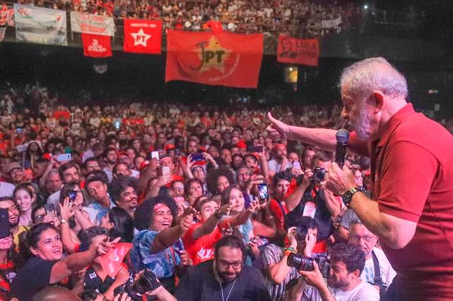 Lula 40 anos do PT
