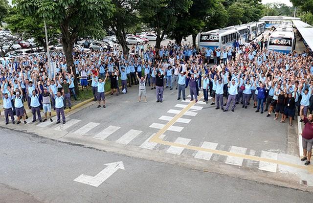 Na quinta-feira, os metalúrgicos aprovaram um acordo que prevê demissão voluntária (Foto: Sindicato dos Metalúrgicos/Divulgação)