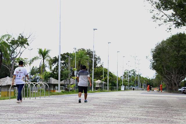 calçada ponta negra