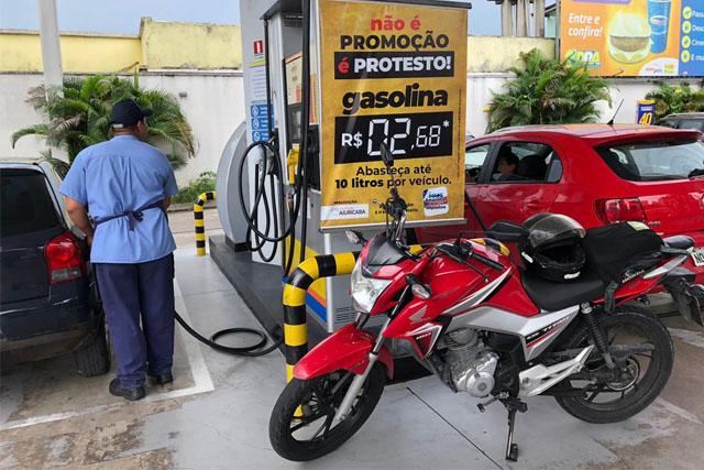 gasolina sem impostos
